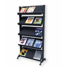 X-Large Single Sided Literature Display in Black