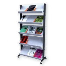 5 Pocket X-Large Single Sided Literature Display