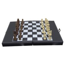 Shut the Box and Chess Set