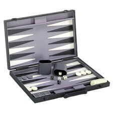 Backgammon Game Set with Modern Case