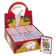 Plastic Coated Paper Playing Cards (Set of 12)