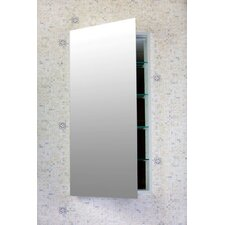 "<strong>Flawless Bathroom</strong> Contemporary 16"" x 40"" Recessed / Surface Mounted Beveled Edge Medicine Cabinet"