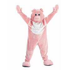Adult Pig Mascot Adult Costume Set