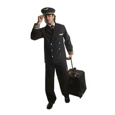 Adult Pilot - Jacket Costume
