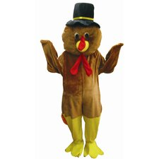 Thanksgiving Turkey Mascot Adult Costume Set