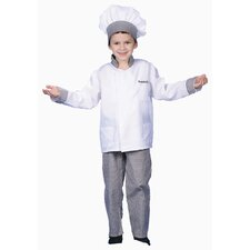 <strong>Dress Up America</strong> Deluxe Chef Boy Dress Up Children's Costume Set