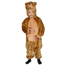Cuddly Little Brown Bear Children's Costume Set