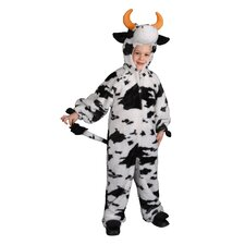 Plush Cow Children's Costume