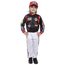 Race Car Driver Children's Costume