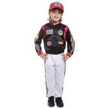 Race Car Driver Children's Costume