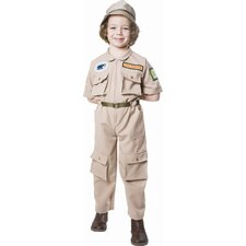 Zoo Keeper Children's Costume
