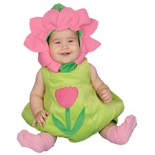 Dazzling Baby Flower Costume Set