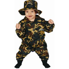 Baby Military Officer Costume Set