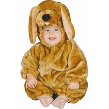 Brown Puppy Plush Baby's Costume