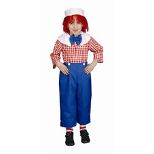 Rag Boy Children's Costume Set