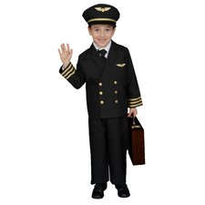 Pilot Boy Jacket Children's Costume