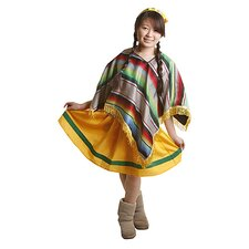 Mexican Girl Children's Costume Set