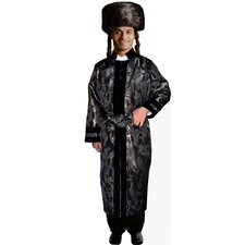 <strong>Dress Up America</strong> Adult Rabbi Coat Costume