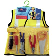 <strong>Dress Up America</strong> Construction Worker  Role Play Dress Up Set