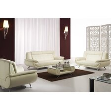 <strong>Tip Top Furniture</strong> Curve Leather Living Room Collection