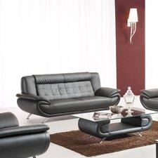 Curve Leather Sofa