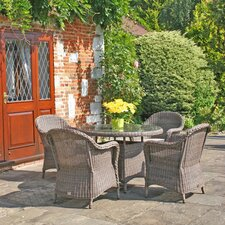 All Seasons Marlow 5 Piece Round Dining Set