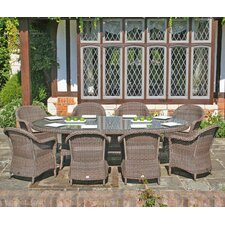 All Seasons Marlow 9 Piece Oval Dining Set