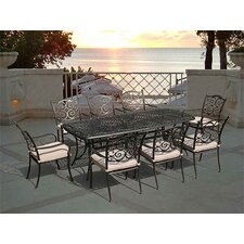 Sorrento 9 Piece Rectangle Dining Set