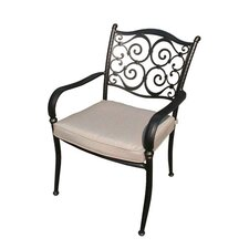Sorrento Stacking Arm Chair with Cushion