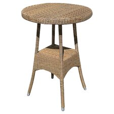 All Seasons Victoria Round Synthetic Bar Table