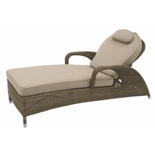 Sussex Reclining Sunbed with Cushion