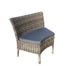 Mayfair Single Curved Chair with Cushion