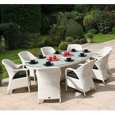 Sussex Oval 9 Piece Dining Set