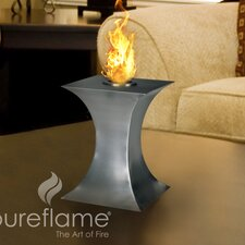 <strong>PureFlame</strong> Concave Table Tabletop Fireplace