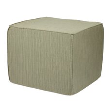 <strong>Mozaic Company</strong> Sunbrella Textured Indoor/ Outdoor Ottoman