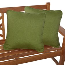 Corded Lumbar Throw Pillows (Set of 2)