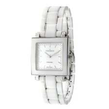 Women's Dial Watch in White