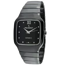 Women's Square Watch in Black