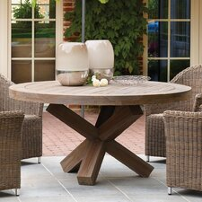 Riva Round Teak Dining Table