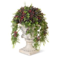 Pepper Ball Topiary in Urn