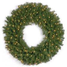 """Norwood Fir 30"""" Pre-Lit Wreath"""