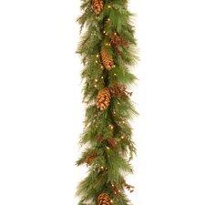 White Pine Pre-Lit 6' Garland