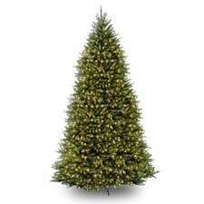 Dunhill Fir 10' Artificial Christmas Tree with 1200 Clear Lights