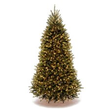 Dunhill Fir 9' Green Artificial Christmas Tree with Clear Lights