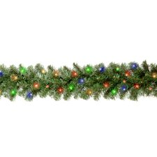 "Kincaid Spruce Pre-Lit 9' x 10"" Garland"