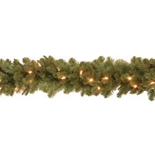 <strong>National Tree Co.</strong> Noble Deluxe Fir Pre-Lit 6' Garland
