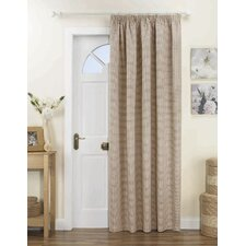 Curtina Kent Lined Pencil Pleat Single Panel Curtain