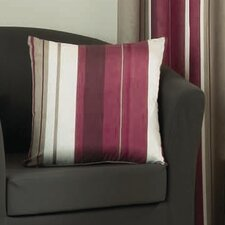 Whitworth Single Cushion Cover in Claret
