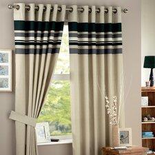 Curtina Harvard Eyelet Lined Curtain (Set of 2)