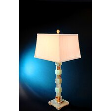 "Chartreuse 33"" H Piano Table Lamp"